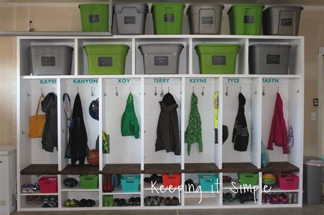 mudroom ideas diy 61 easy diy garage storage organization projects