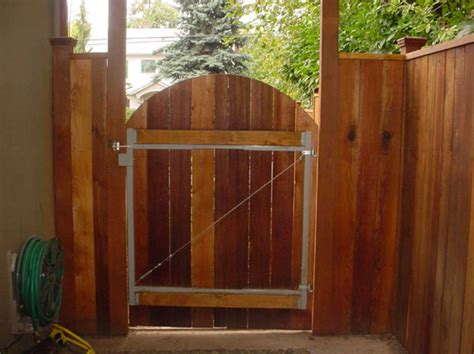 privacy fence gate kit with wood fence material home