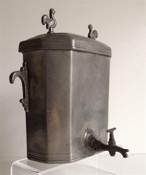 r 233 servoir d eau en 233 tain avec robinet 1806 catawiki
