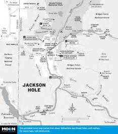 Map of jackson hole