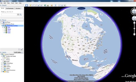map view turning on map view in earth geographic information systems stack exchange