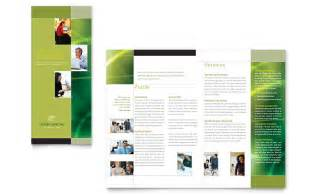 marketing leaflet template marketing tri fold brochure template word