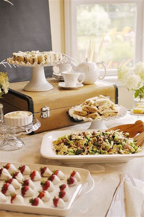 food for sunday afternoon bridal shower 71 best bridal shower tea images on bridal showers afternoon snacks and
