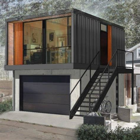 2 Bedroom Tiny House Plans by Shipping Container Homes Move Into Edmonton S Back Alleys