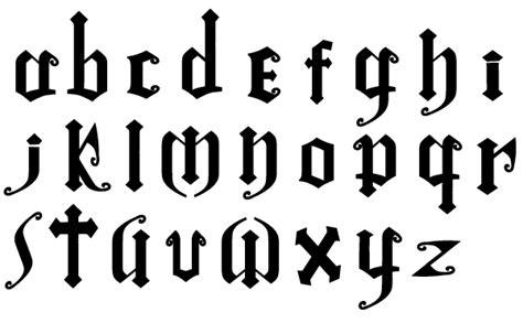 punk tattoo font generator gothic font by oathwind on deviantart