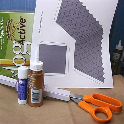 What Materials Are Used To Make Paper - make haunted houses with cereal boxes and printables