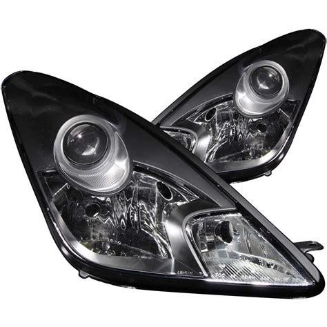 Toyota Celica Headlights Anzo Usa Toyota Celica 00 05 Projector Headlights Black