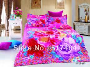 new 4pc bedding duvet cover bright colored comforter sets