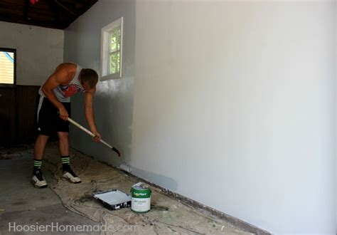 Boys Bedroom Paint Ideas man cave garage slob comes clean hoosier homemade
