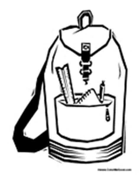 family cing coloring page backpack coloring page