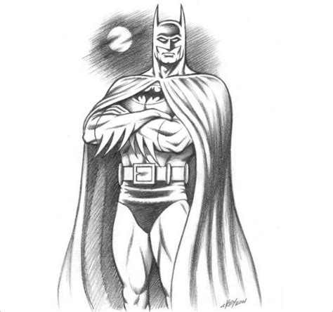 20 Fantastic Batman Drawings Download Free Premium Templates Free Drawing For