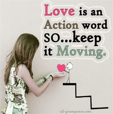 love   action word    moving