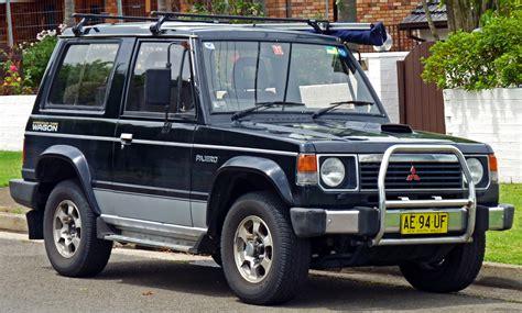 how it works cars 1991 mitsubishi pajero auto manual mitsubishi pajero i 1982 1991 suv outstanding cars