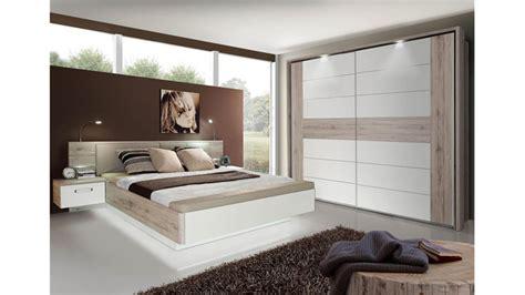 schlafzimmer set weiss hochglanz schlafzimmer set rondino sandeiche wei 223 hochglanz inkl led