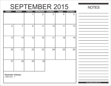 printable weekly planner september 2015 2015 free printable calendars free printable calendars