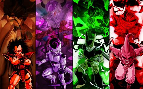 dragon ball z villains wallpaper dbz villains dragon ball z photo 25544599 fanpop