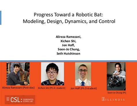 towards a robotic architecture books seth hutchinson progress toward a robotic bat