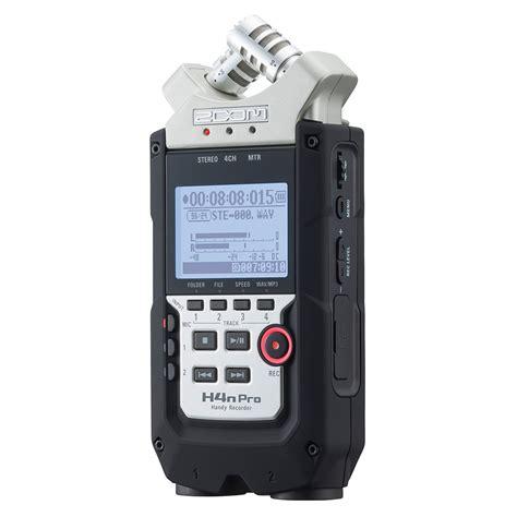 best handy recorder zoom h4n pro handy recorder at gear4music