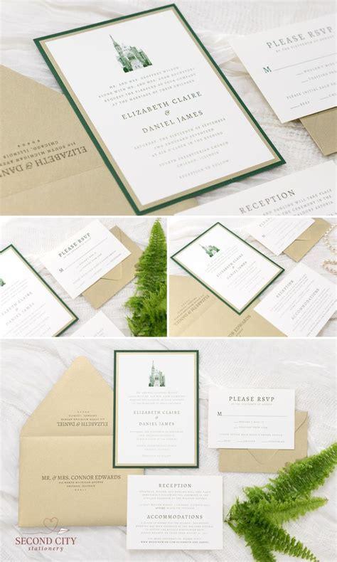 Best 25  Green wedding invitations ideas on Pinterest