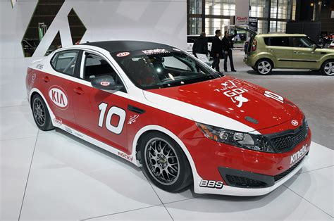 Kia Optima Car by Kia Optima Turbo Sx Kinetic Race Car Photo Gallery Autoblog