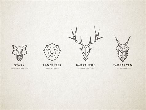 design game of thrones sigil game of thrones house sigil illustrations by chris spooner