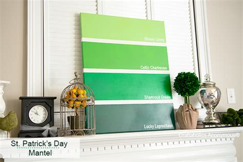 St S Day Home Decorations by Craftaholics Anonymous 174 Simple St S Day Mantel