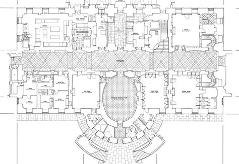 white house floor plan residence 파일 white house floorg plan jpg 위키백과 우리 모두의 백과사전