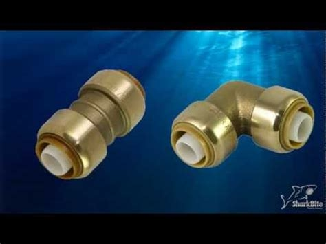 how to use gatorbite or sharkbite plumbing connection