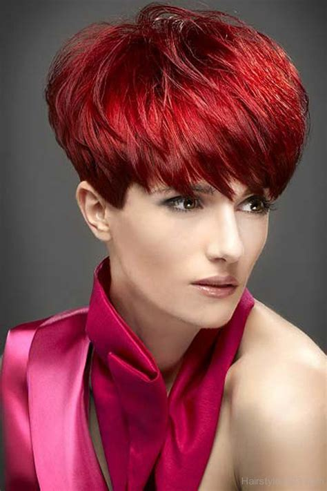 red hairstyles images choppy hairstyles