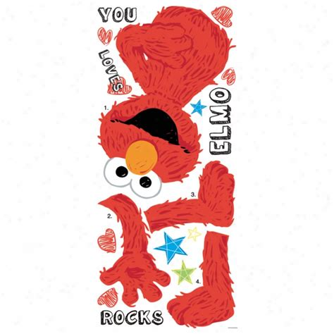 elmo wall stickers the explorer peel stick border wall decals the home flooring catalog