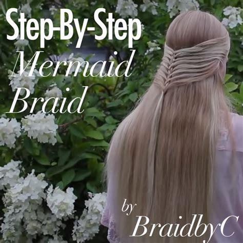 the ultimate mermaid braid step by step instructions the ultimate mermaid braid step by step instructions step