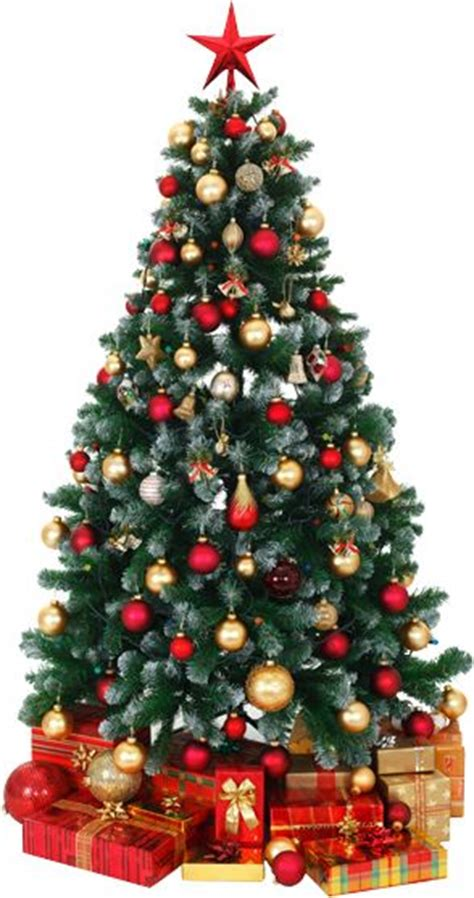 recommended number of ornaments trees presents and led