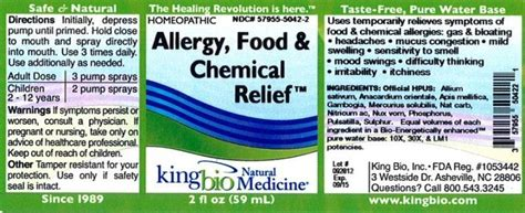 food chemical pigments names dailymed allergy food andchemical relief allium