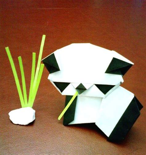 How To Make A Origami Panda - origami pandas mostly pandas origami