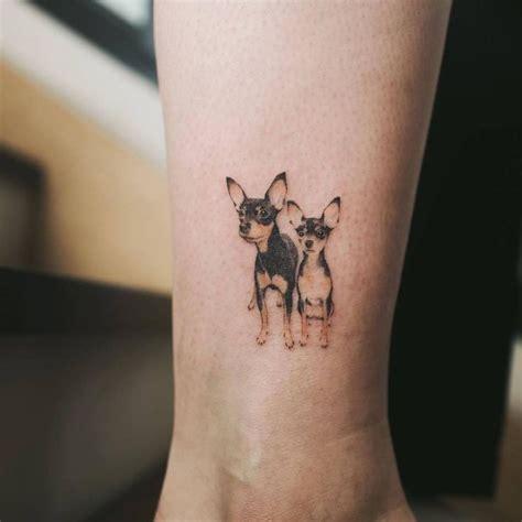 chihuahua tattoo 238 best tatuajes en el tobillo images on