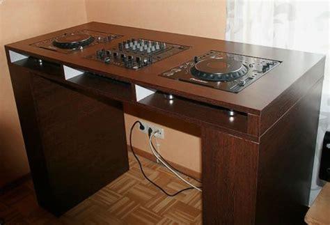 wooden dj table wood dj table for 2x cdj 1000 djm 500 600 800 ebay