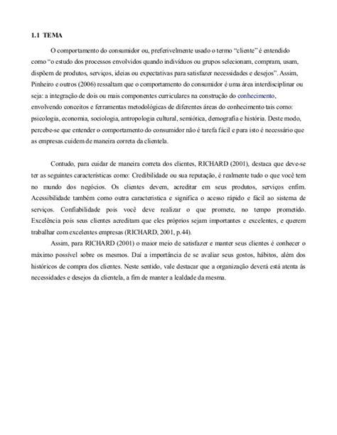 COMPORTAMENTO DO CLIENTE NO PROCESSO DE COMPRA