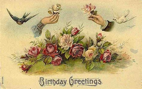 printable victorian birthday cards free clip art from vintage holiday crafts 187 birthday