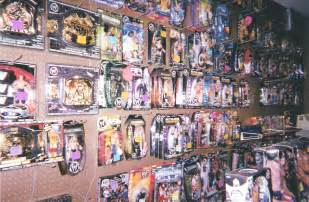 Lots of action figures and toys for the kids plus much more