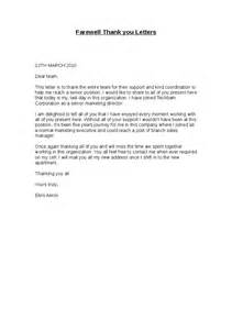 Appreciation Letter To Colleague Farewell Thank You Letters Hashdoc