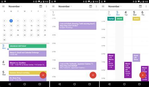 android calendar this is the new calendar 5 0 for android droid