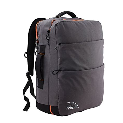 cabin max edinburgh carry on backpack with padded notebook