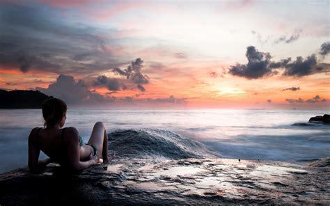 imagenes de yoga frente al mar viajes buenaventura 187 una chica frente al mar 8405
