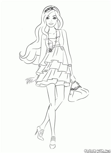 circus coloring book escape to the circus world with this fanciful coloring odyssey books coloring page in a dress