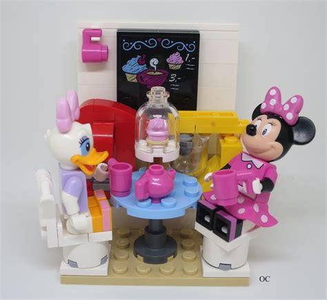 Lego Minifigures Disney Series Desy Duck lego duck minnie mouse minifigures vignette 8x8 lego disney lego mice