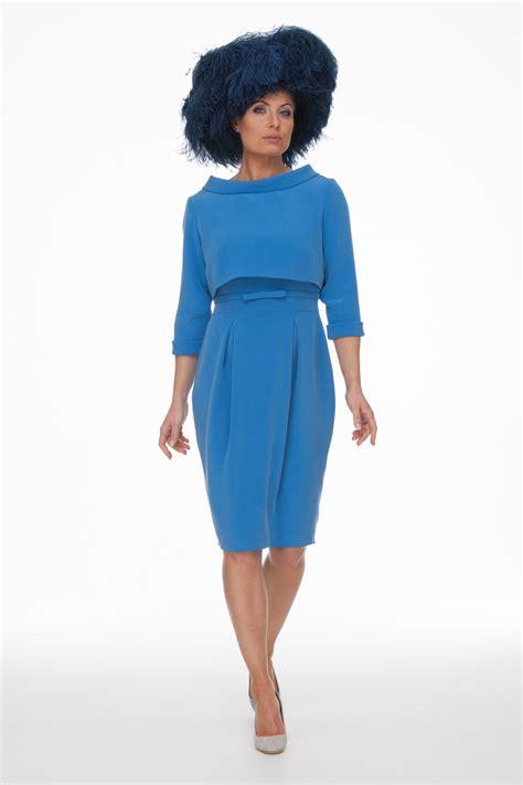Feminine Dress With Jacket Set 2in1 Dress Jacket blue dress and jacket jackets review