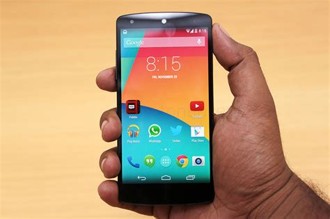 in nexus 5 nexus 5 review smartphone with style elegance and