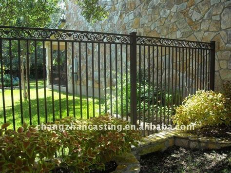 wrought iron front yard fence wrought iron fencing