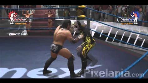la lucha de jan 1975762800 video rese 241 a lucha libre aaa h 233 roes del ring pixelania youtube