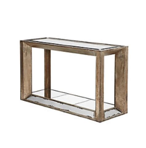 z gallerie mirrored console table z gallerie pascal mirrored console table original price